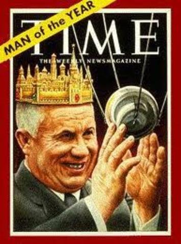 Khrushcev becomes Premier of Soviet Union
