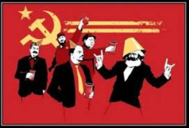 China-Russia conflict over Communist ideology