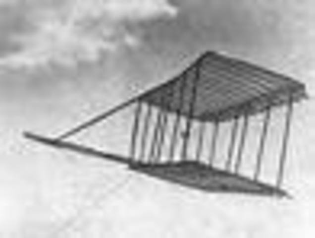 George Cayley invents a manned glider