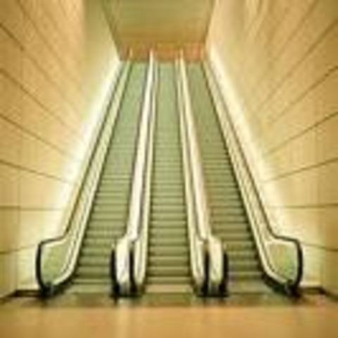 Charles Seeberger redesigned Jesse Reno's escalator and invented the modern escalator.