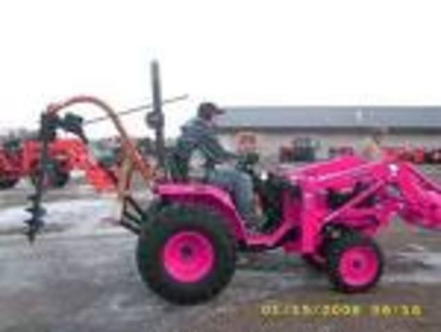 Benjamin Holt invents a tractor.