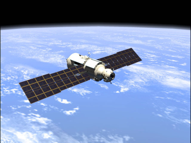 Russian Control Module Launched