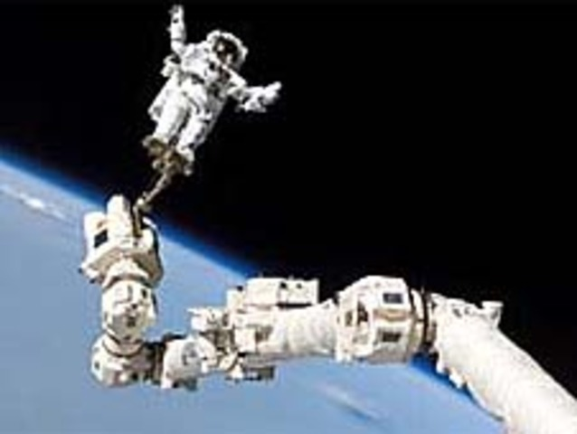 Robotic arm launched