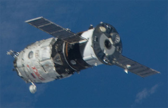 Pirs launched to space station