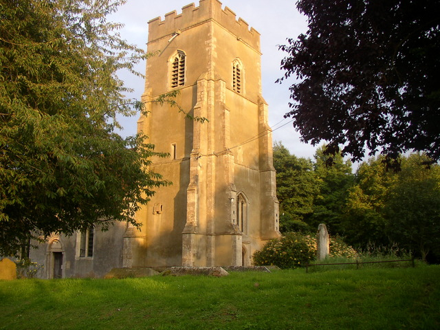 Church Tower built in late 14th C