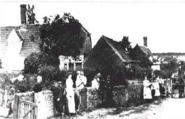 First record of a Post Office in the Village