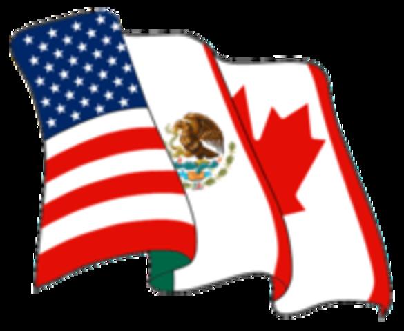 NAFTA Goes Into Effect