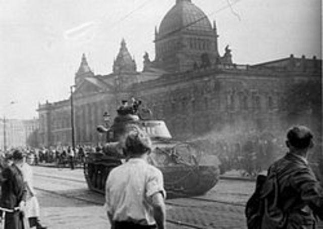 Uprising in GDR