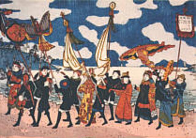 Arrivel of Dutch traders