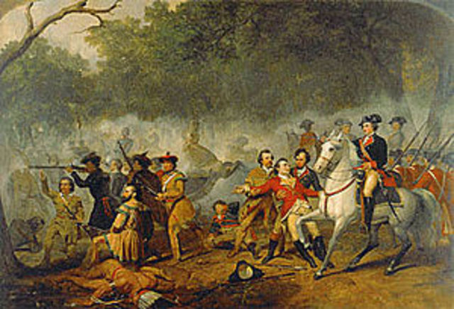 The period of French and British colonization