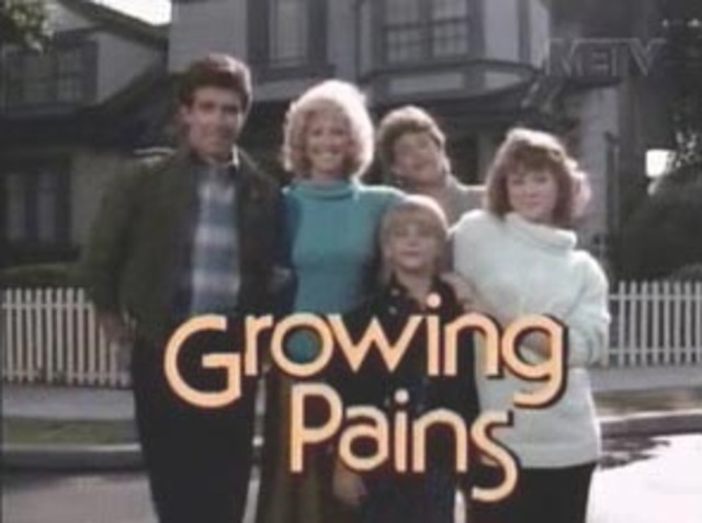 Growing Pains premiered on ABC