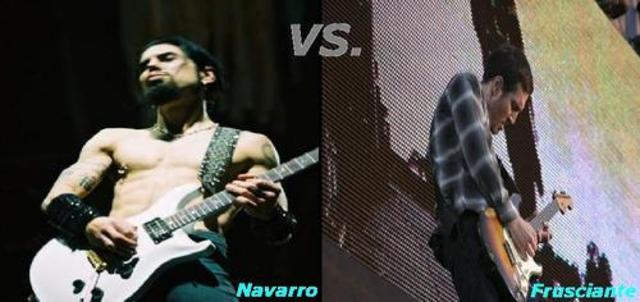 Frusciante left and Navarro Joined