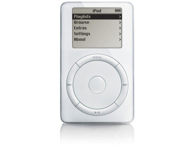 The iPod is born!