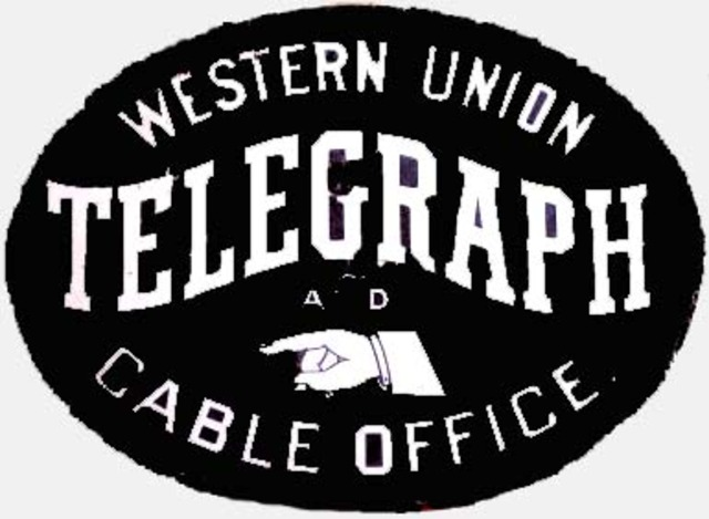 Western Union completes the first transcontinental telegraph line