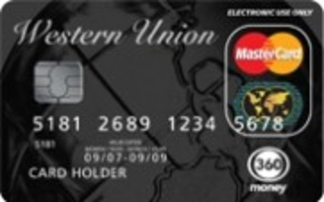 Western Union introduces the first consumer charge card