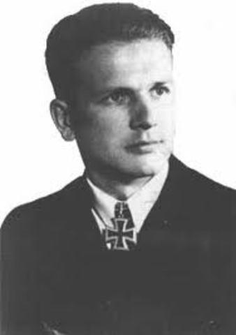 German scientist Fritz Schroeter