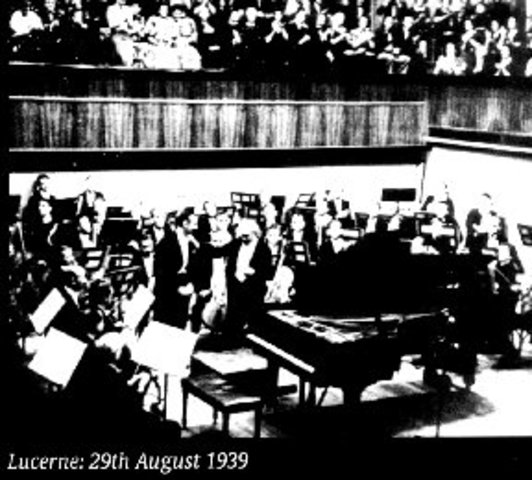 The NBC Symphony Orchestra premiere