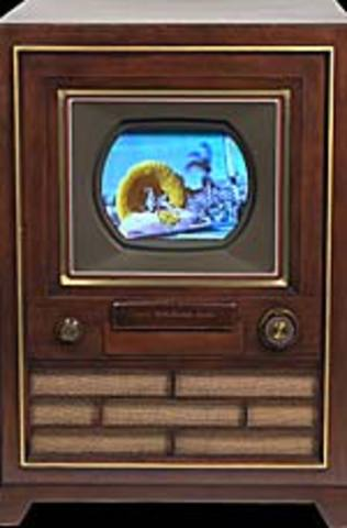 The first color television