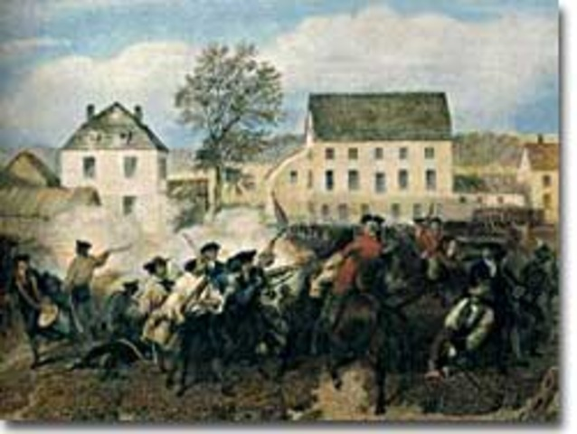 The Battles of Lexington & Concord