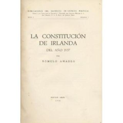 Constitucion de Irlanda