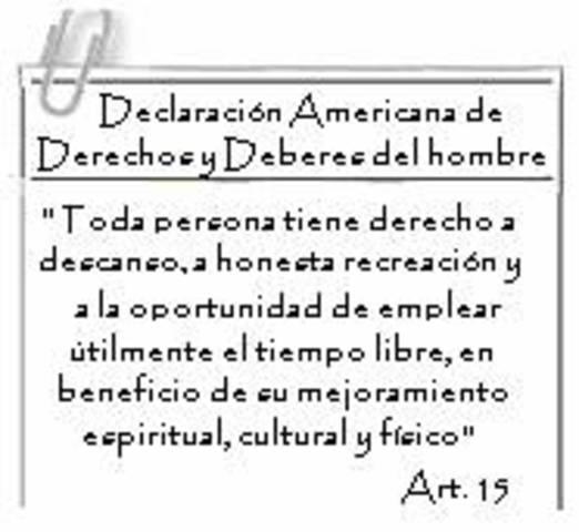 Declaracion Americana de los derechos y deberes del hombre
