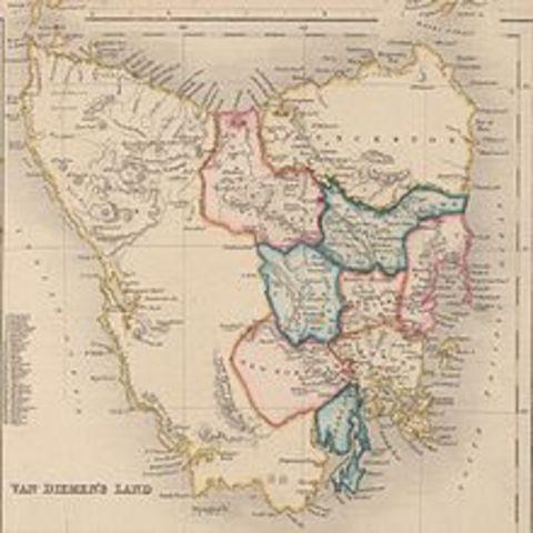 Second Major Settlement at Van Diemen's Land