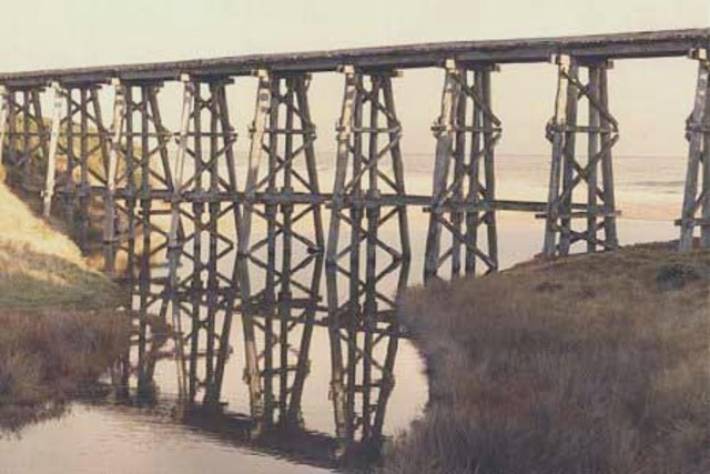 First Long Distance Railway