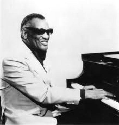 Ray Charles Robinson gets inducted into the Rock and Roll Hall of Fame