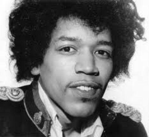 Jimi Hendrix creates his first band
