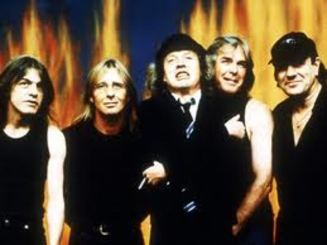 AC/DC gets inducted into the Rock and Roll Hall of Fame