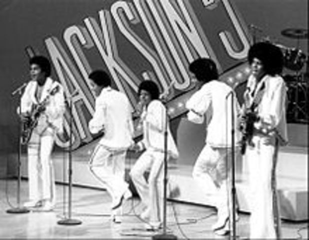 Michael Jackson makes his debut appearance in the Jackson 5