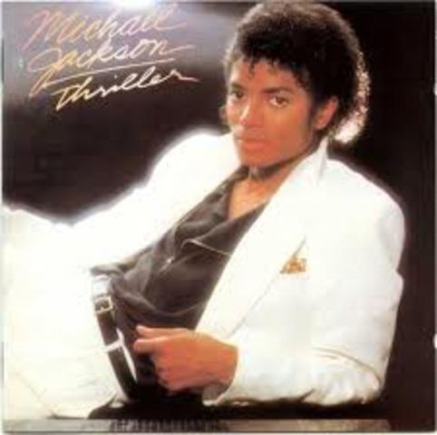 """Michael Jackson releases the album """"Thriller"""""""