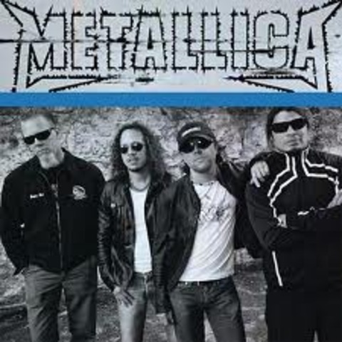 The heavy metal band metallica is created