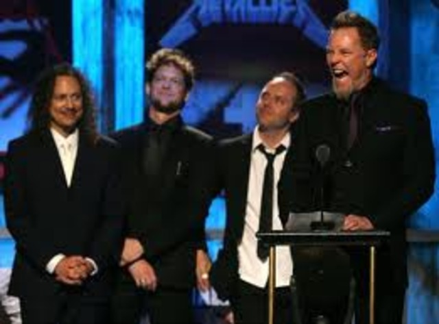 Metallica is inducted into the Rock and Roll Hall of Fame