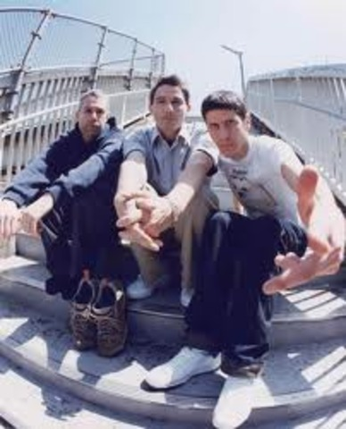 The Beastie Boys play for the first time