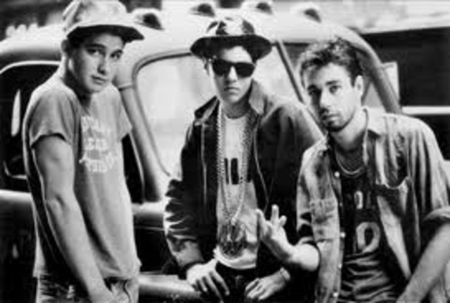 The Beastie Boys officialy change to rap
