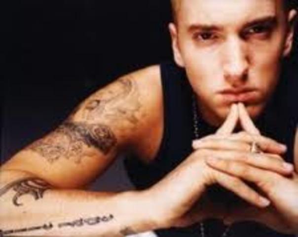 Eminem is born