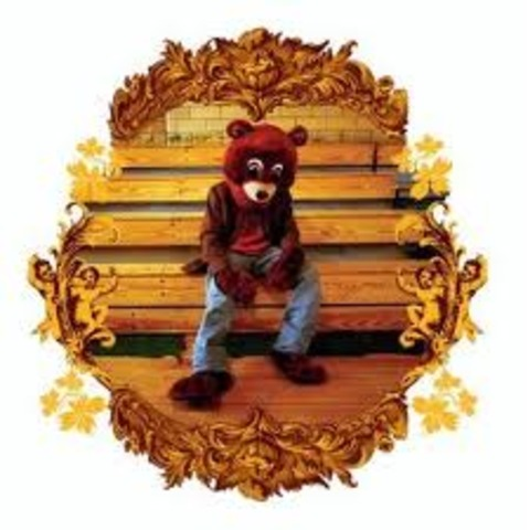 Kanye West releases his first album