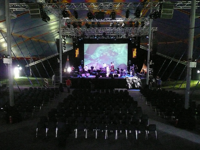 The founding of the moers festival.