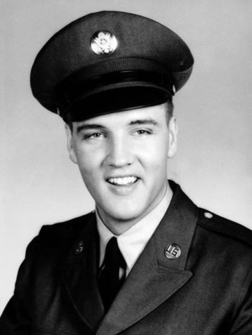 Elvis Presley Joins the Army