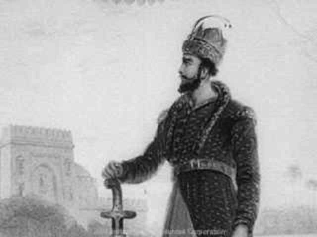 Babur succeeded his father