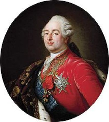 Louis XVI convokes general on prime minister