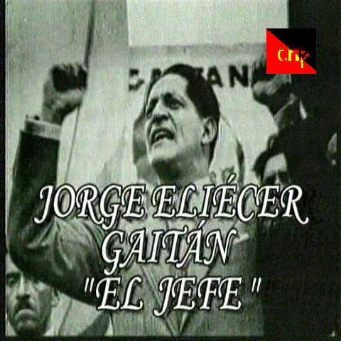 JORGE ELIECER GAITAN JEFE LIBERAL