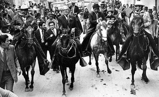 FORMACION DEL FRENTE NACIONAL Y PRESIDENCIA DE ALBERTO LLERAS CAMARGO
