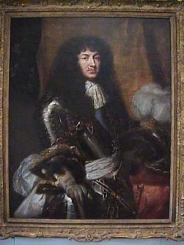 Louis XIV takes control