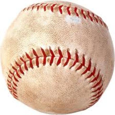 1st Baseball Game