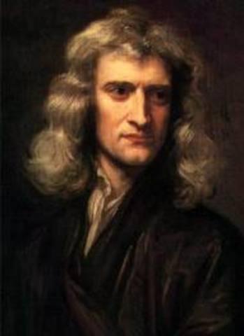 Sir Isaac Newton is born