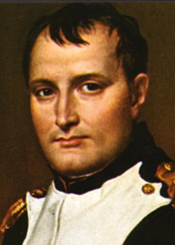 Napoleon overthrows the Directory through a coup d'etat