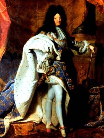 Louis XIV Takes Throne of France