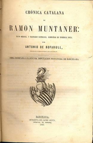 Surt a la llum la crònica de Ramón Muntaner